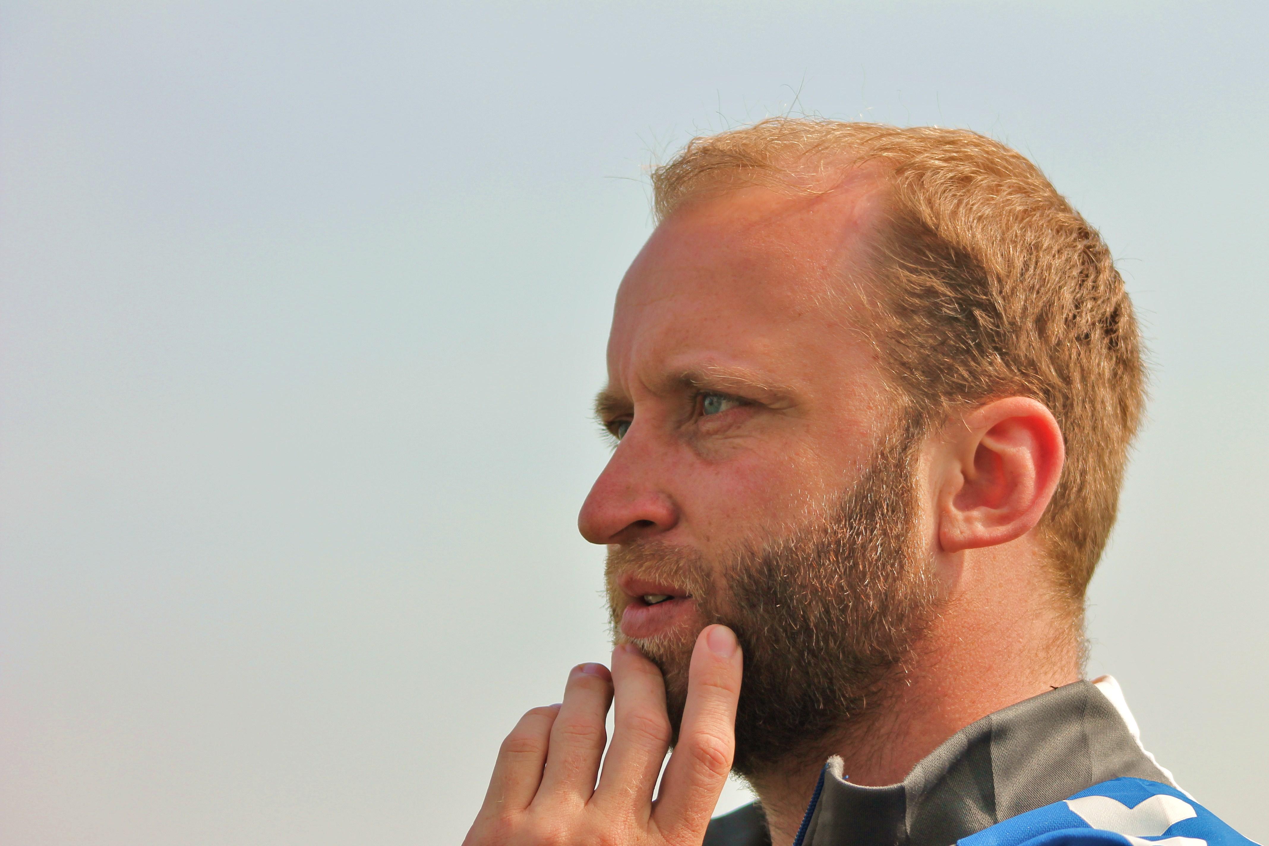Trainer Martin Holzendorf Foto: Fernanda Beck