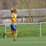 Hanna Joaachimmeyer auf dem Weg zu ihrem 1. Landesligator und dem 7:1 Endstand. Foto: Fernanda Beck