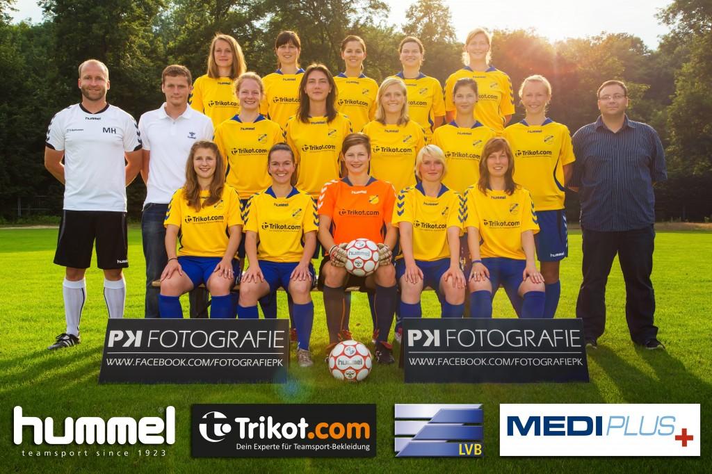 Mannschaftsfoto SG LVB Frauen