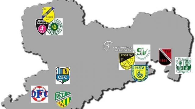 Landesliga 2017- 2018 Haltestellen