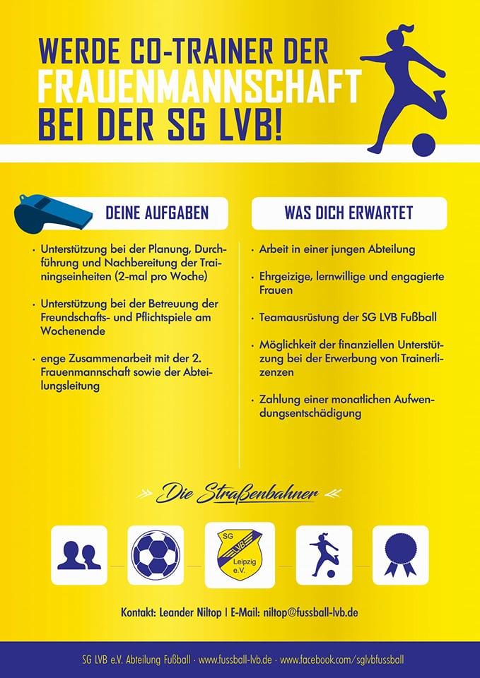 Trainersuche SG LVB